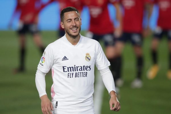 Real Madrid star Eden Hazard has revealed that he suffered an ankle injuryIt has become in the past. Because there are no more worries.
